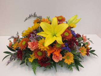 Happy Harvest Centerpiece from Lesher's Flowers, local St. Louis Florist since 1973