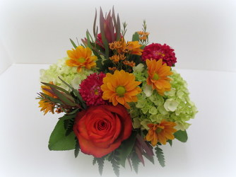 Autumn Abundance from Lesher's Flowers, local St. Louis Florist since 1973