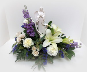 Beautiful Angel from Lesher's Flowers, local St. Louis Florist since 1973