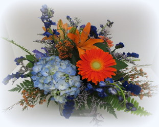 Bright & Bold from Lesher's Flowers, local St. Louis Florist since 1973