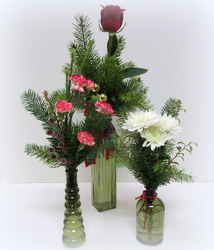 Christmas Treat from Lesher's Flowers, local St. Louis Florist since 1973