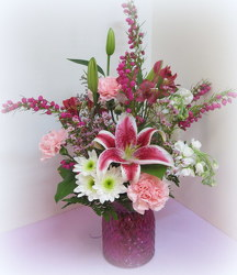 Forever Fushia from Lesher's Flowers, local St. Louis Florist since 1973