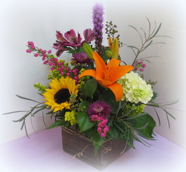 Garden Goodness from Lesher's Flowers, local St. Louis Florist since 1973