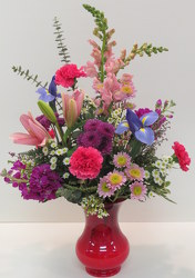 Garden Romance from Lesher's Flowers, local St. Louis Florist since 1973