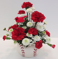 Go Cards from Lesher's Flowers, local St. Louis Florist since 1973
