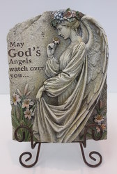 God's Angels Stone from Lesher's Flowers, local St. Louis Florist since 1973