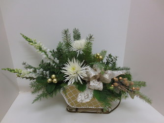 Holiday Sleigh Ride from Lesher's Flowers, local St. Louis Florist since 1973