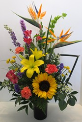 Elegant Style from Lesher's Flowers, local St. Louis Florist since 1973