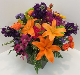 Hot Summer Nights from Lesher's Flowers, local St. Louis Florist since 1973