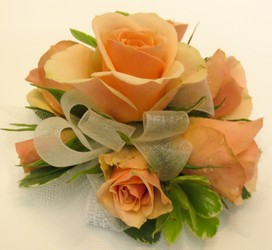 Rose Wrist Corsage from Lesher's Flowers, local St. Louis Florist since 1973