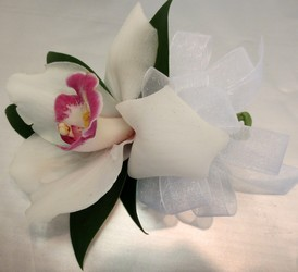 Orchid Corsage from Lesher's Flowers, local St. Louis Florist since 1973