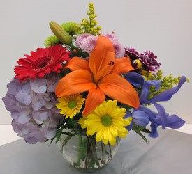 Burst Of Color from Lesher's Flowers, local St. Louis Florist since 1973
