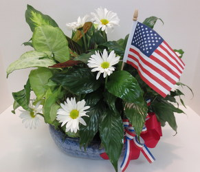 American Pride from Lesher's Flowers, local St. Louis Florist since 1973