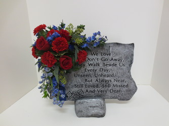 Large Garden Stone from Lesher's Flowers, local St. Louis Florist since 1973