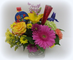Lets Party from Lesher's Flowers, local St. Louis Florist since 1973