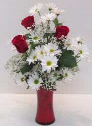 Love & Happiness from Lesher's Flowers, local St. Louis Florist since 1973