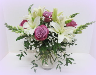 Luxe and Lovely from Lesher's Flowers, local St. Louis Florist since 1973