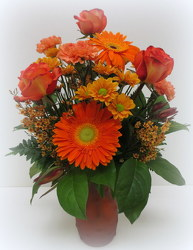 Orange Glow from Lesher's Flowers, local St. Louis Florist since 1973