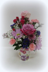 Perfectly Pastel from Lesher's Flowers, local St. Louis Florist since 1973