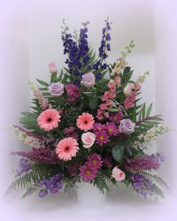 Beautiful Spirit Basket from Lesher's Flowers, local St. Louis Florist since 1973