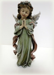 Little Girl Angel from Lesher's Flowers, local St. Louis Florist since 1973