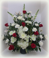 Tender Tribute from Lesher's Flowers, local St. Louis Florist since 1973