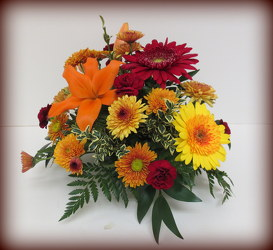 Colorful Autumn from Lesher's Flowers, local St. Louis Florist since 1973