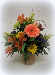 Rustic Charm from Lesher's Flowers, local St. Louis Florist since 1973