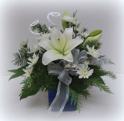 Sapphire Blue from Lesher's Flowers, local St. Louis Florist since 1973