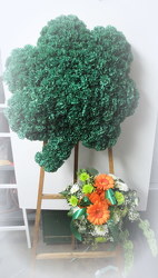 Shamrock Easel from Lesher's Flowers, local St. Louis Florist since 1973