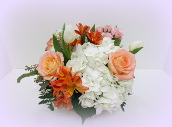 She's a Peach from Lesher's Flowers, local St. Louis Florist since 1973