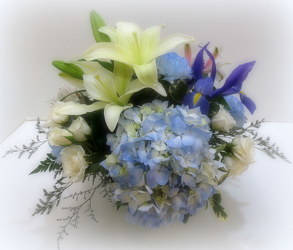 Sky Blue from Lesher's Flowers, local St. Louis Florist since 1973