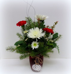 Snowflake Delight from Lesher's Flowers, local St. Louis Florist since 1973