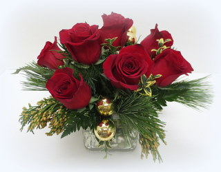 Spirit of Christmas from Lesher's Flowers, local St. Louis Florist since 1973