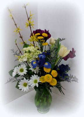 St louis florist flowers local flower shop missouri mo spring green item no le1817 mightylinksfo
