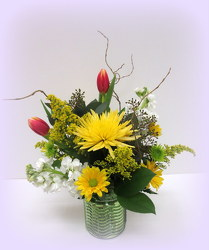 Sunsplash from Lesher's Flowers, local St. Louis Florist since 1973