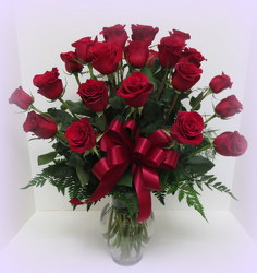 Two Dozen Long Stem Roses from Lesher's Flowers, local St. Louis Florist since 1973