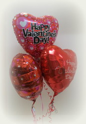 Valentine Balloons from Lesher's Flowers, local St. Louis Florist since 1973