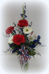 We Salute You from Lesher's Flowers, local St. Louis Florist since 1973
