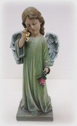 Weeping Angel from Lesher's Flowers, local St. Louis Florist since 1973