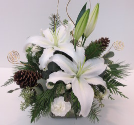 Winter Glow Arrangement