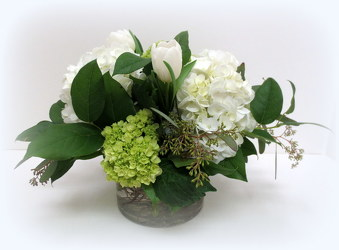 Crisp & Clean from Lesher's Flowers, local St. Louis Florist since 1973