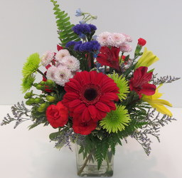Colors Of Love from Lesher's Flowers, local St. Louis Florist since 1973