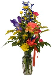 Bunch Vase  from Lesher's Flowers, local St. Louis Florist since 1973