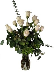 White Beauties from Lesher's Flowers, local St. Louis Florist since 1973